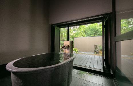 客室専用風呂