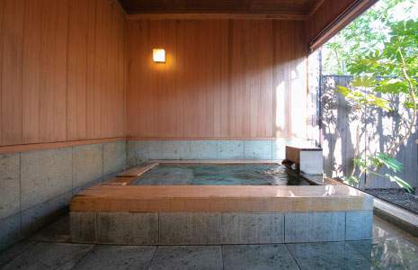 Exclusive hot spring