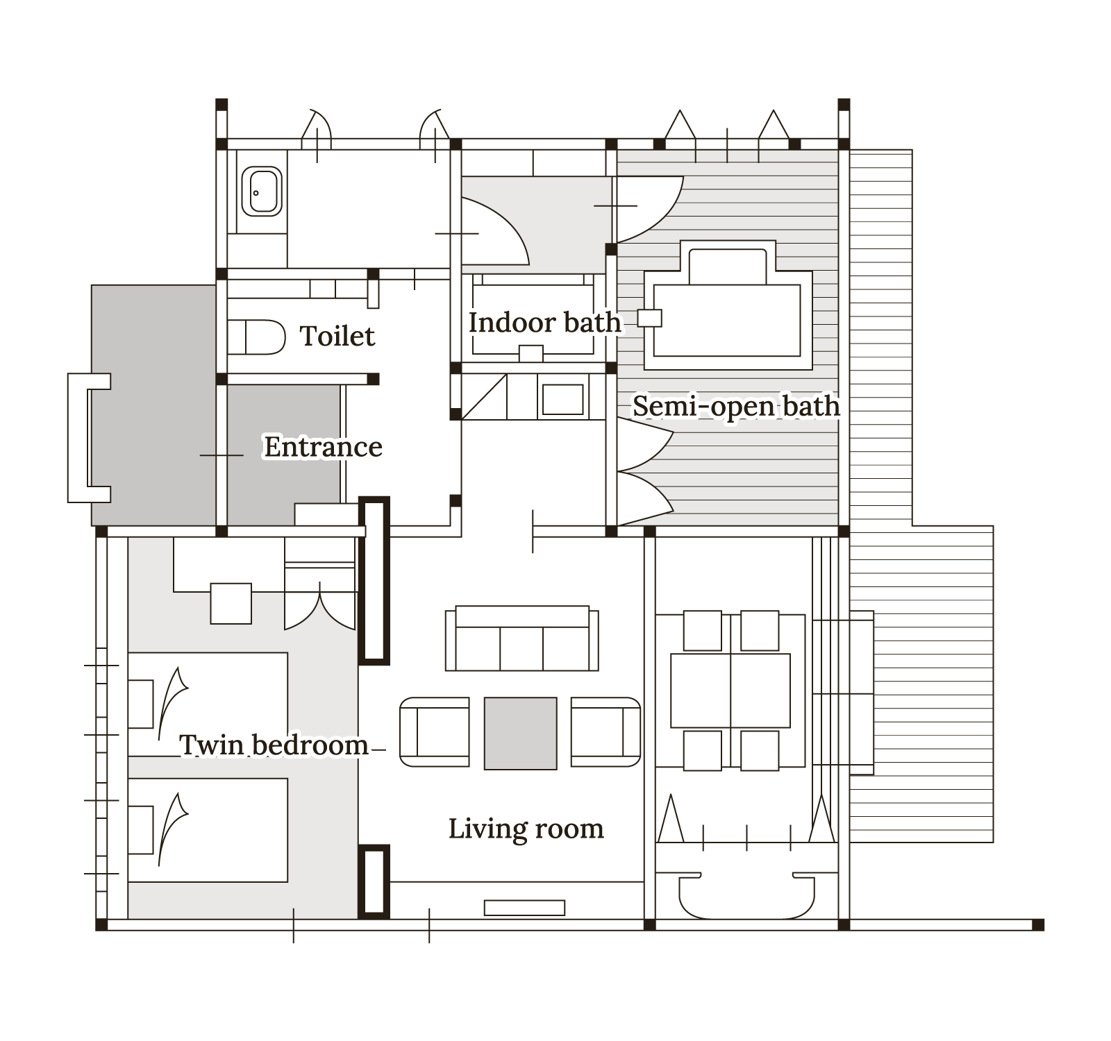 山桃 Floor map