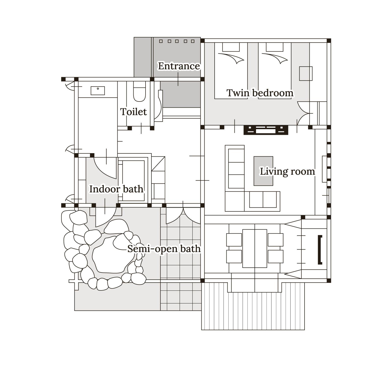 木蓮 Floor map