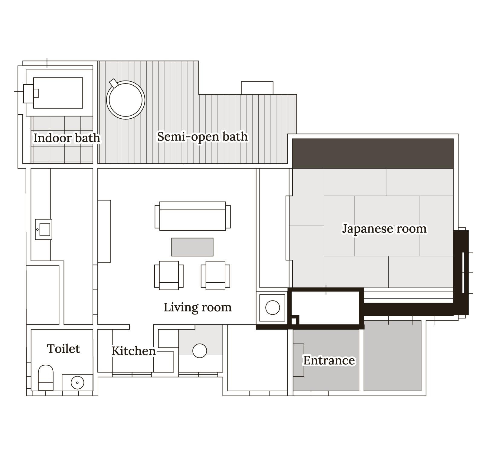 花水木 Floor map