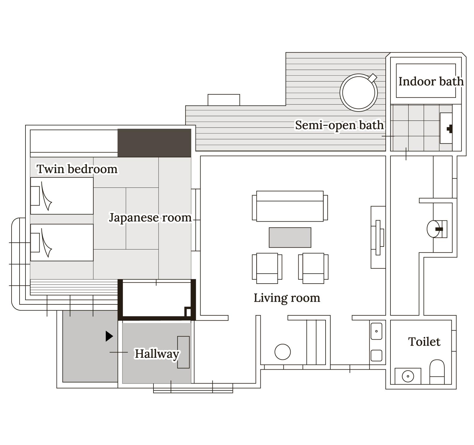 桜 Floor map