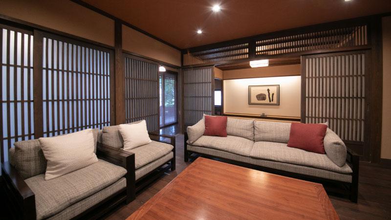 세련된 일본 전통과 양식 스타일의 융합