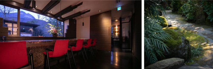 ห้องพักแยกส่วนตัวของยูฟูอินซึ่งเงียบสงบและดีต่อจิตใจ